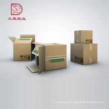 O costume imprimiu o cálculo de empacotamento feito sob encomenda popular da caixa corrugada do preço