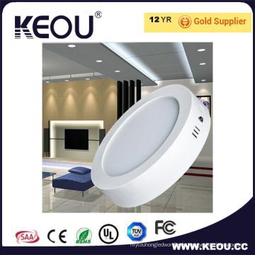 Runde Oberfläche brachte LED-Platte 6W 12W 18W 24W Dimmable an