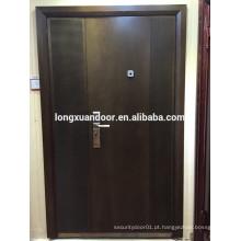 Longxuan porta do filho e da mãe, moldura da porta de madeira