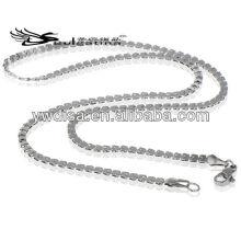 Cadena larga de la serpiente del estilo para el collar que hace la joyería de cadena de los hombres gruesos