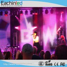Hohe Qualität Schnelle Installation und ultra dünner LED Vorhang für Stadiums-Hintergrund P6.944