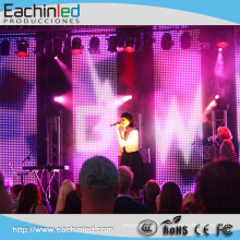 High quality Fast installation and Ultra thin LED Curtain For Stage Background P6.944
