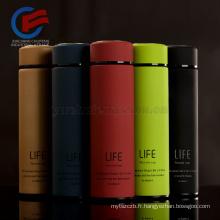 LOGO de tasse de Thermos de bouteille d'eau d'acier inoxydable adapté aux besoins du client 350 / 500ml