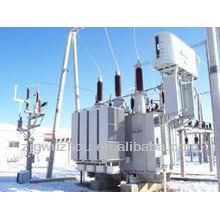 110kV abaixo do transformador de poder elétrico