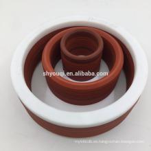 Gran calidad V tipo anillo de sellado de goma Vee estilo paquete sellos o grupo de anillo de fibra de caucho