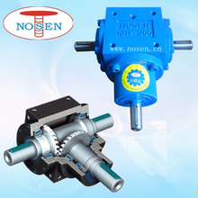 Right Angle 2 Shafts or 3 Shafts Miter Spiral Gearbox for Power Transmission