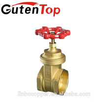 China supplier -1164 italy brass gate valve brass valve 57 brass gate valve LINBO-C465