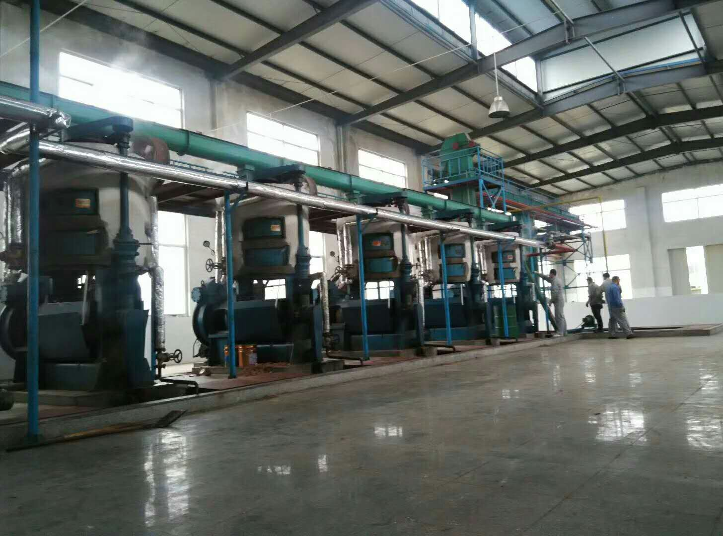 Cooking oil processing machine0