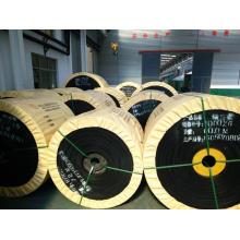 Correa transportadora de cable de acero HR