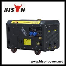 Bison China Zhejiang Высококачественный надежный генератор дизель-генераторных установок Firman Silent 12 KVA Single Phase
