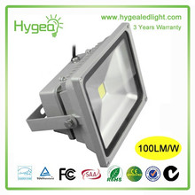 High Luminous IP65 outdoor 100w led flood light with CE Rosh