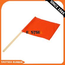 Orange PVC-Gewebe-Sicherheitssteuerung-Handflagge