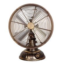 9′′ ventilador de ventilador/Metal clásico