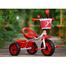 Venta al por mayor de los cabritos en el coche dos asientos del triciclo del bebé embroma la bici del triciclo con el asiento trasero