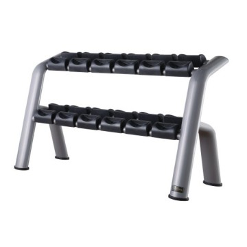 Peralatan Gym Durable 6 Pair Dumbbell Rack