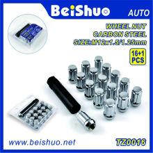 Bunte CNC-Aluminium-Alu-Radnussschloss