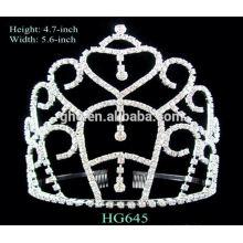 Longue durée de vie usine directement tiara couronne