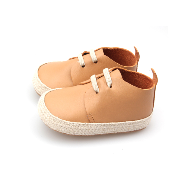 New Style Soft Sole Genuine Leather Baby Casual Shoes