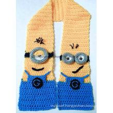 Customized Handmade Acrylic Knitted Crochet Scarves, Scarf