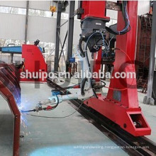 dumper automatic robot welder use in production line