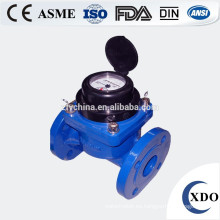 Medidor de agua de riego de paletas de tipo seco
