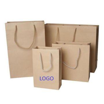 O retalho vendeu o costume dos sacos do alimento de papel de embalagem