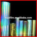 BOPP Holographic Rainbow Film Laminated