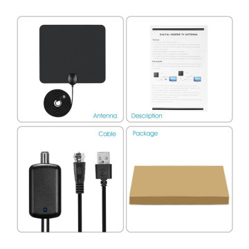 Yetnorson High Gain Digital TV Antenna with Amplifier