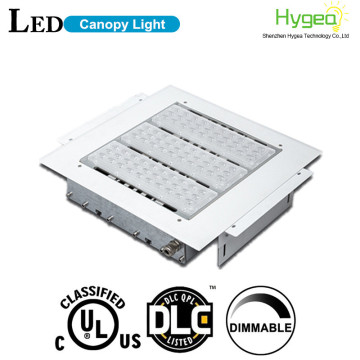 200w led canopy light for gas station