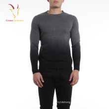 Men Cashmere Crew Neck Fisherman knit Sweater,Knitting Mens Sweaters