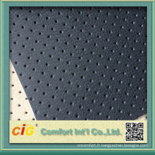 Haute qualité 100 % pu cuir tissu