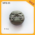MFB35 custom suit buttons logo design metal classic jeans button