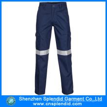 Winter Discount Hohe Sichtbarkeit Blue Cheap Herren Work Pants