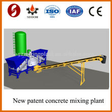 Fábrica de hormigón móvil de alto rendimiento MD1200, planta móvil de mezcla de hormigón, planta móvil de hormigón