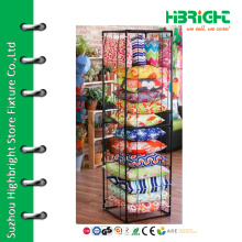 Metal wire cushion display rack for store