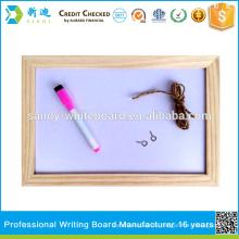 NEUER Holzrahmen magnetisches Whiteboard kleines Schreibbrett Qualität gesichert