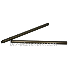 Aluminum alloy tube with hard anodic oxidation