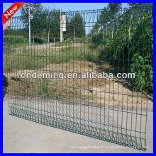 Panneaux de clôture en treillis métallique soudé en jauge 6