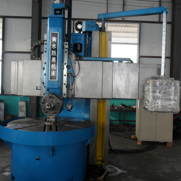 Dro double column vertical lathe machine