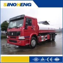 Caminhão de transporte do petroleiro de Bowser da água de Sinotruk 5000liters