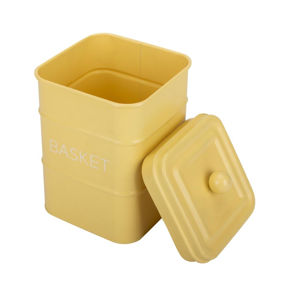 Yellow Storage Box