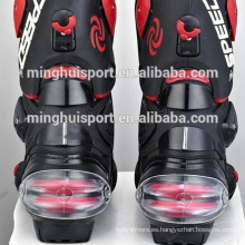 Venta caliente de la motocicleta de China patea botas de carreras de velocidad, botas de motocross, botas de motos Venta caliente de botas de motos de China botas de carreras de velocidad, botas de motocross, botas de motos