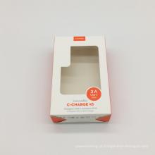Janela de PVC transparente Caixa de presente de papel personalizado