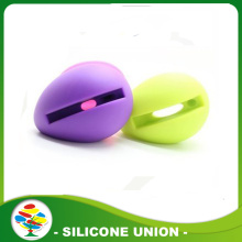 New and novelty silicone Music Egg Shaped Stand Speaker
