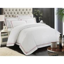 100% Algodão ou T / C 50/50 / Bordados Hotel / Home Bedding Set (WS-2016049)