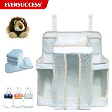 Caddy de stockage de couche accrochante et organisateur de chambre de bébé pour les bases du bébé