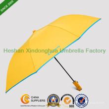 Parapluie pliant deux automatique grand de Golf pour hommes (FU-28228BFA)