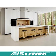Armoires de cuisine de placage de laque de style classique (AIS-K315)