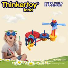 Regalo promocional juguete de plástico de puzzle para la educación