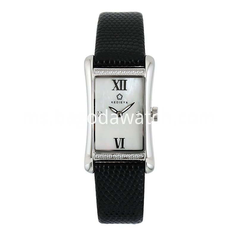 Women S Black Stainless Steel Watch